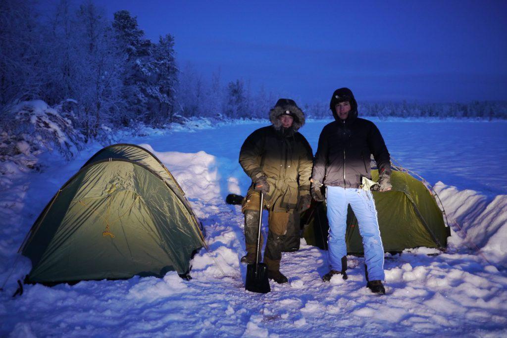 Outdoor Camping Schnee